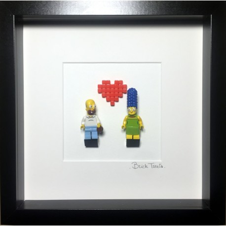 Amour Marge & Homer