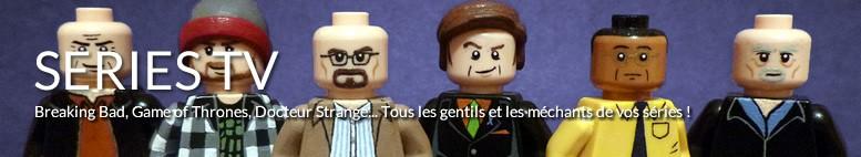 Tableaux LEGO Séries TV