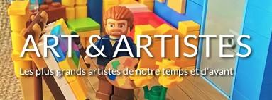 Tableaux LEGO Artistes