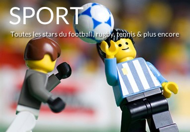 Tableaux LEGO Sport et sportifs