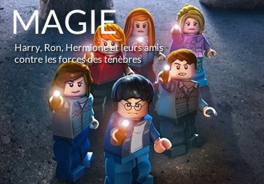 Tableaux LEGO Harry Potter
