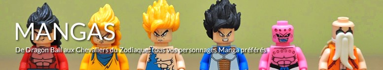 Tableaux LEGO Mangas