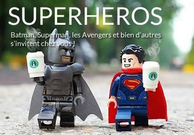 Tableaux LEGO super-héros