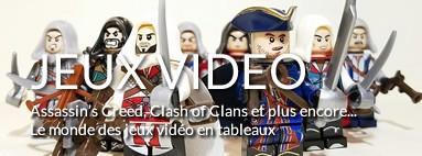Tableaux LEGO Jeux vidéo